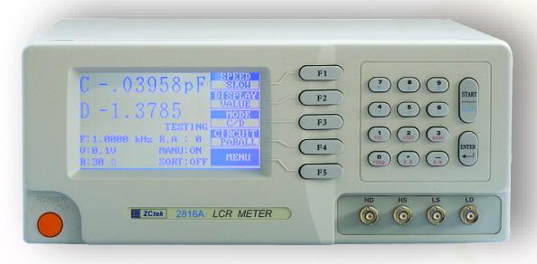 中策电子高精度宽频lcr数字电桥2816a